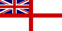 The White Ensign.
